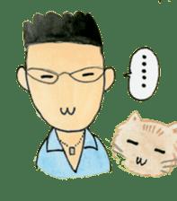 Showa couple ikukiti and ikumi sticker #937486