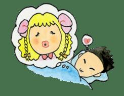 Showa couple ikukiti and ikumi sticker #937512