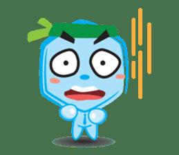 Blue life man sticker #937524