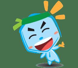 Blue life man sticker #937530