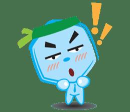 Blue life man sticker #937533
