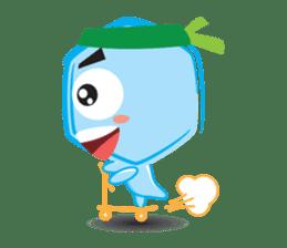 Blue life man sticker #937534