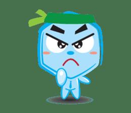 Blue life man sticker #937535