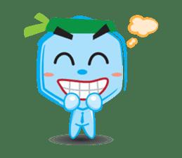 Blue life man sticker #937538