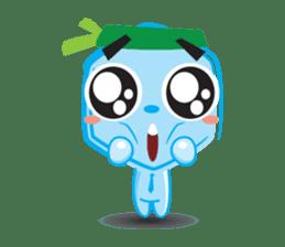 Blue life man sticker #937541