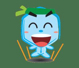 Blue life man sticker #937543