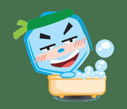 Blue life man sticker #937544