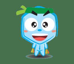 Blue life man sticker #937545