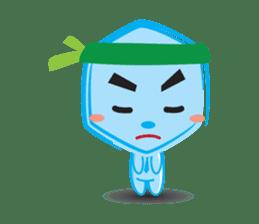 Blue life man sticker #937546