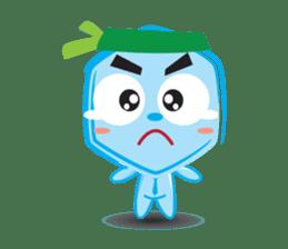 Blue life man sticker #937547
