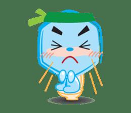 Blue life man sticker #937556