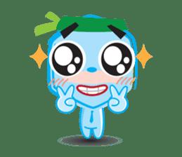 Blue life man sticker #937557