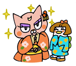 Nyakimaru and Pensuke sticker #937771