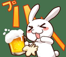 Gluttonous rabbit sticker #938212