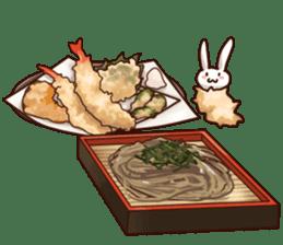 Gluttonous rabbit sticker #938233