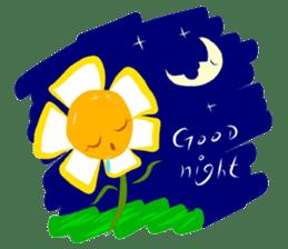 Little Flower Mi sticker #938244
