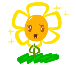 Little Flower Mi sticker #938251