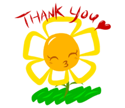 Little Flower Mi sticker #938266