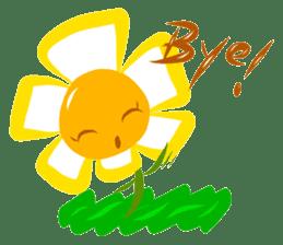 Little Flower Mi sticker #938275