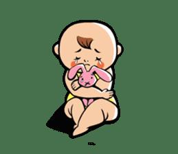 Daddy, please! Cute babies.(English) sticker #941629