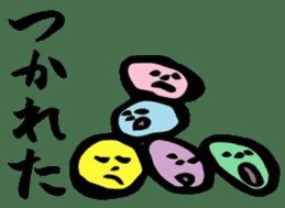 "Japanese ""Shodou"" Stickers sticker #944190"