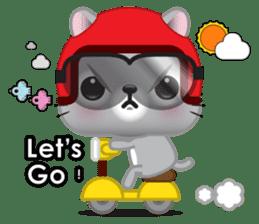 Mimi, The Cat sticker #944410