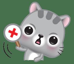 Mimi, The Cat sticker #944416