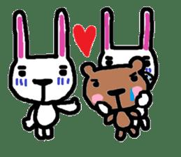 Rabbit brothers2 sticker #944618