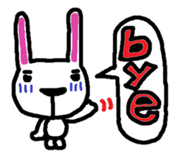 Rabbit brothers2 sticker #944620