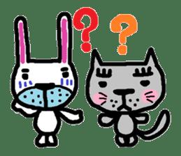 Rabbit brothers2 sticker #944623