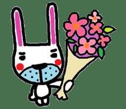 Rabbit brothers2 sticker #944631