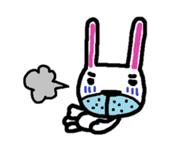 Rabbit brothers2 sticker #944632