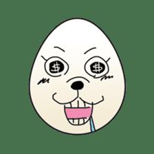 Horror Egg sticker #944984