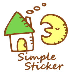 Simple Stickers-English-