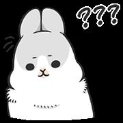 สติ๊กเกอร์ไลน์ Machiko Rabbit: Daily Feeling