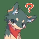 Hello! I'm Izuna. sticker #949533