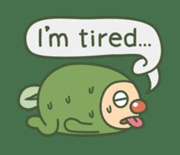 Green mameta(English) sticker #949697
