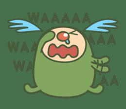 Green mameta(English) sticker #949699