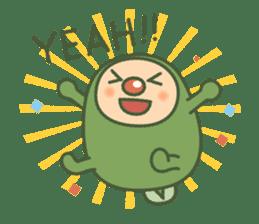 Green mameta(English) sticker #949700