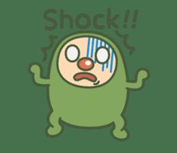 Green mameta(English) sticker #949705