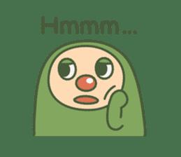 Green mameta(English) sticker #949706