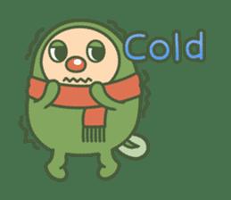 Green mameta(English) sticker #949712