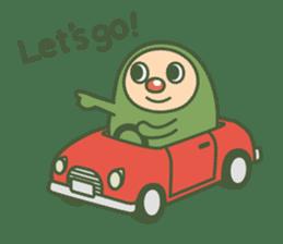 Green mameta(English) sticker #949714