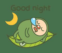 Green mameta(English) sticker #949720