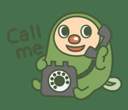 Green mameta(English) sticker #949721