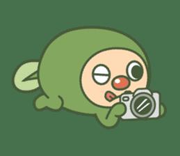 Green mameta(English) sticker #949723