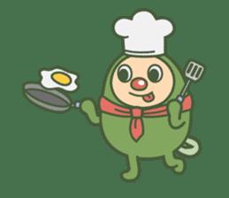 Green mameta(English) sticker #949726