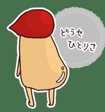 KinokinoSAN of the mushroom sticker #952090