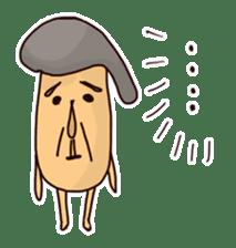 KinokinoSAN of the mushroom sticker #952115