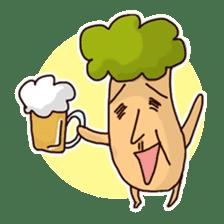 KinokinoSAN of the mushroom sticker #952124